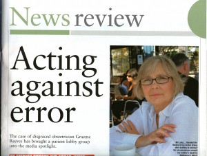 2008.04.04 Acting against error | Australian Doctor