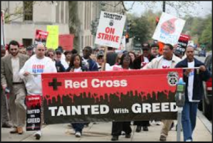 Red Cross tainted with greed