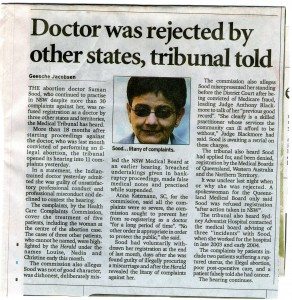Dr Sood rejected by other states 407