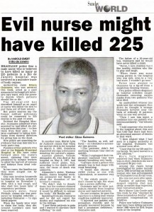 Evil nurse killed 225