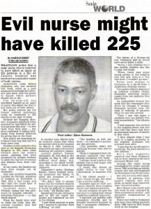 Evil nurse killed 225
