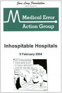 2004.02.09 REPORT Inhospitable Hospitals