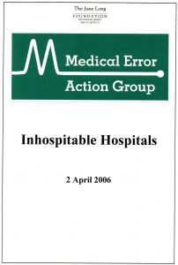2006.04.02 REPORT Inhospitable Hospitals