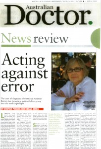 04.04.08 Australian Doctor News review