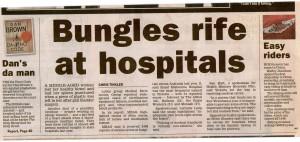 Bungles rife at hospitals