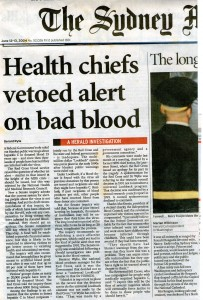 Health chief veteod