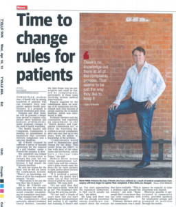 Time to change rules for patients 10.4.13