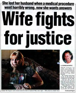 Wife fights for justice