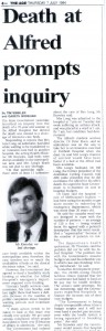 07.07.94 Death at Alfred prompts inquiry
