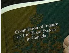 Commission of Inquiry Blood System in Canada