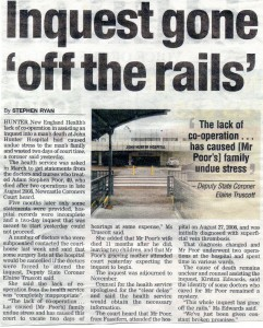 Inquest gone off the rails 10.8.10