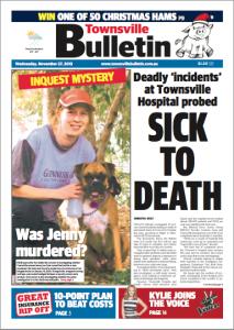 Townsville Bulletin 27.11.2013