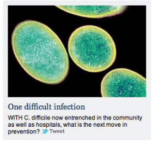 C. difficile | one difficult infection